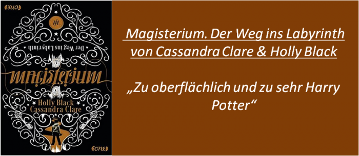 Magisterium - Der Weg ins Labyrinth - Rezension