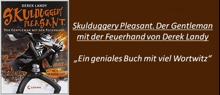 Skulduggery Pleasant. Der Gentleman mit der Feuerhand - Rezension