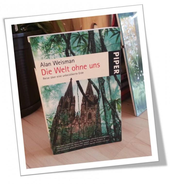Buch im Regal - Die Welt ohne uns