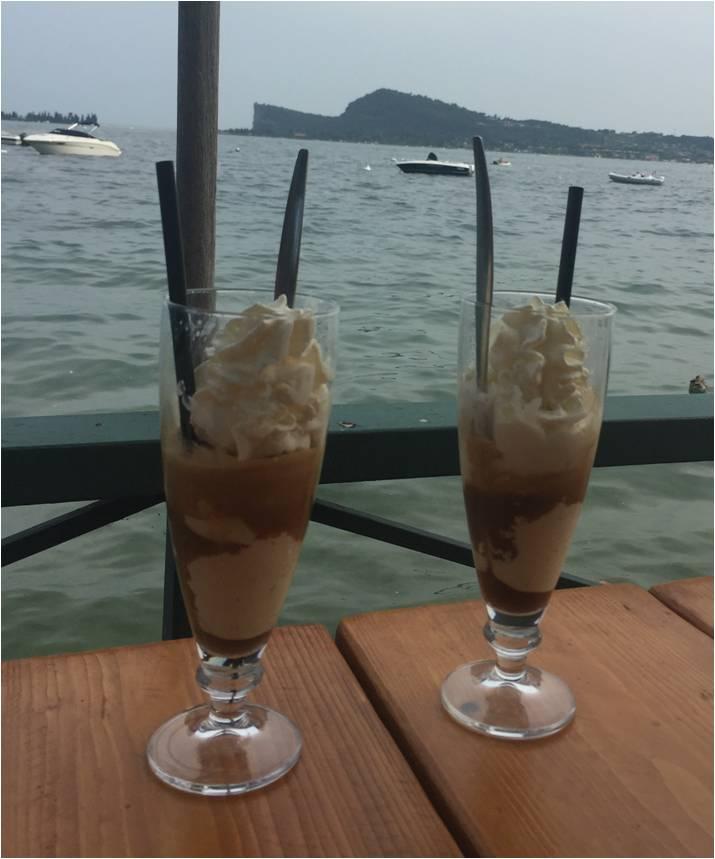 Italienischer Eiscafé