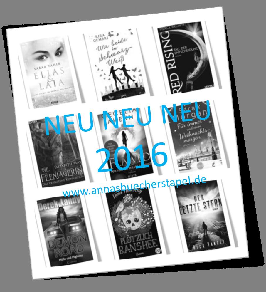 Neuerscheinungen 2016