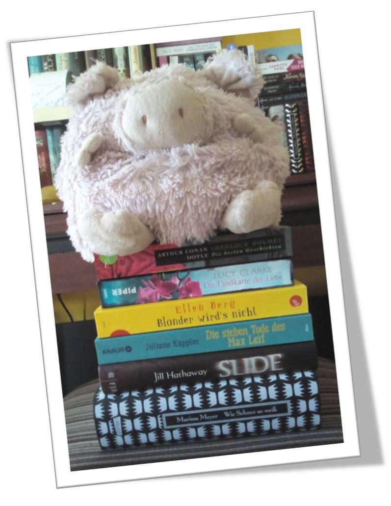 Monatsstatistik August 2016 - Gelesene Bücher