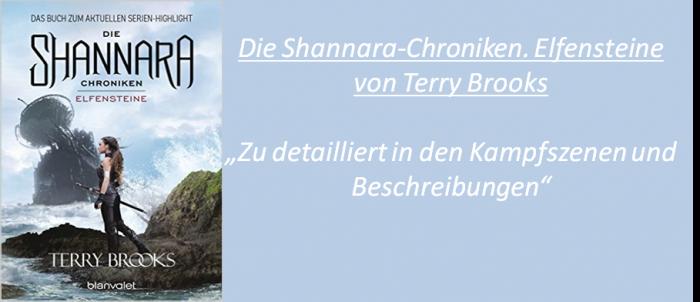 Die Shannara Chroniken. Elfensteine - Rezension