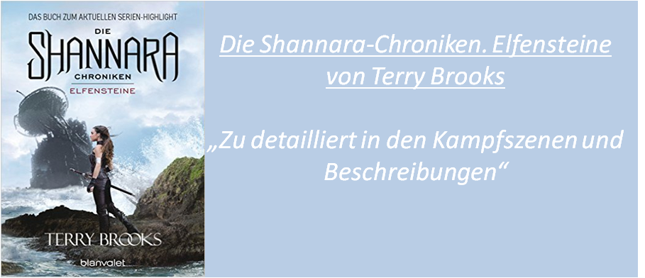 Die Shannara Chroniken. Elfensteine - Rezension