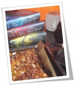 The Taste of Books - Gemüseecken - nach dem Ofen