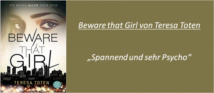 Beware that Girl - Rezension
