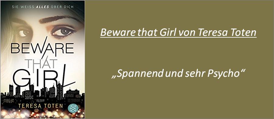 Beware that Girl - Rezension