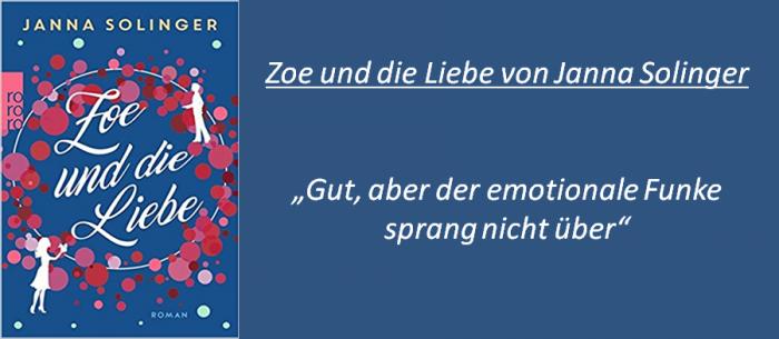 Zoe und die Liebe - Rezension