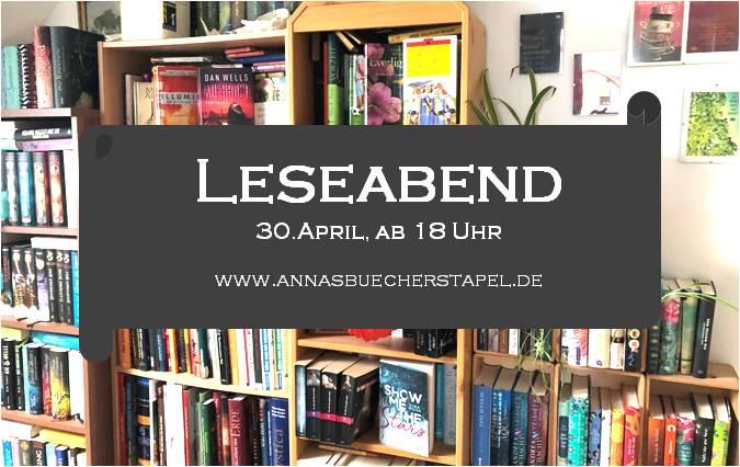 Banner Leseabend