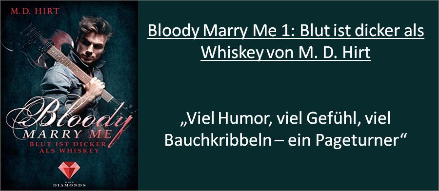 Bloody Marry Me - Blut ist Dicker als Wasser - Rezension