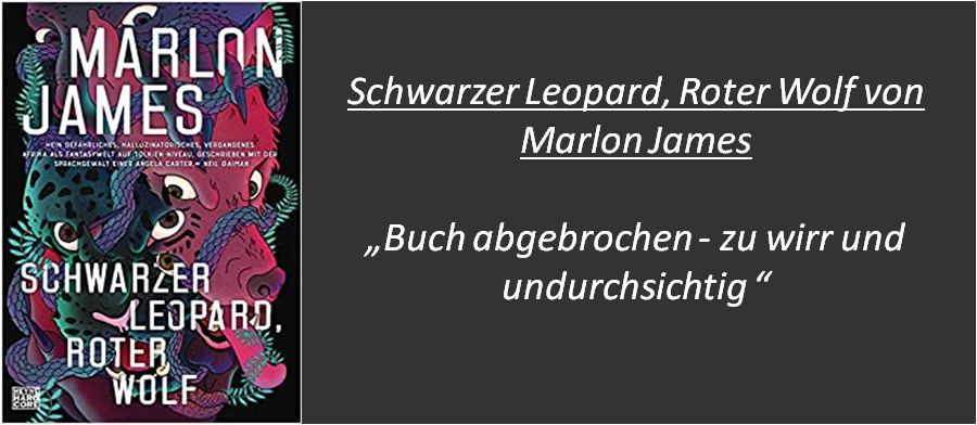 Schwarzer Leopard, roter Wolf - Rezension