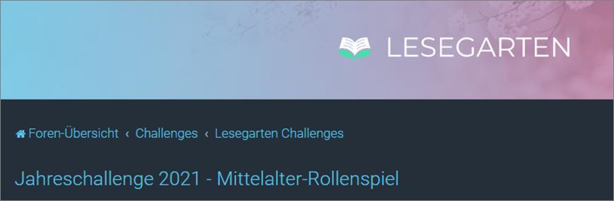 Challenge Mittelalter-Rollenspiel im Lesegarten