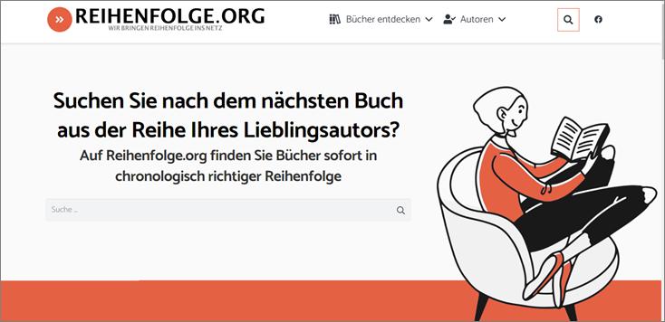 Reihenfolge.org Screenshot